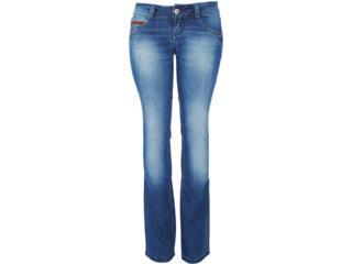 Calça Feminina Lado Avesso 82115 Jeans - Tamanho Médio
