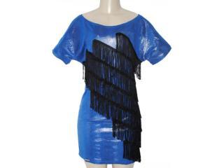 Vestido Feminino y Exx 18669 Azul Geada - Tamanho Médio