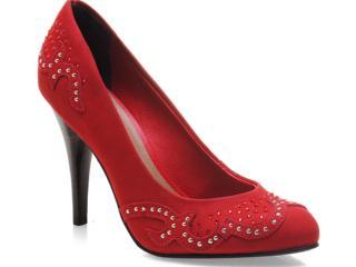 Sapato Feminino Tanara 4262 Vermelho - Tamanho Médio