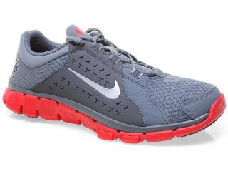 Tênis Masculino Nike 525730-008 Flex Supreme tr Cinza/vermelho - Tamanho Médio