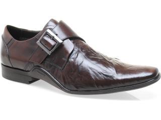 Sapato Masculino Ferracini 2956 Manchester Conhaque - Tamanho Médio