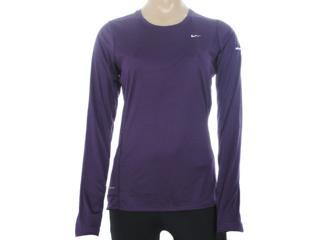 Camiseta Feminina Nike 519833-584 Miler Violeta - Tamanho Médio