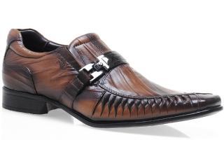 Sapato Masculino Rafarillo 7849 Conhaque - Tamanho Médio