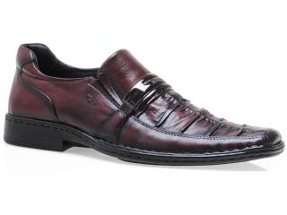Sapato Masculino Rafarillo 4803 Mogno - Tamanho Médio