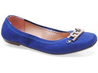 Sapatilha Feminina Moleca 5105717 Azul - Tamanho Médio