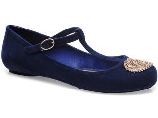 Sapatilha Feminina Grendene 16582 Zaxy Azul - Tamanho Médio