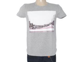 Camiseta Masculina Coca-cola Clothing 353203324 Mescla - Tamanho Médio