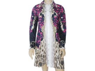 Vestido Feminino Intuição 133473 Estampado - Tamanho Médio