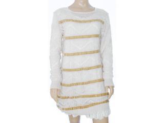 Vestido Feminino Intuição 133211 Cru - Tamanho Médio
