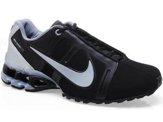 Tênis Masculino Nike 558441-001 Impax Contain ii sl Preto/prata - Tamanho Médio
