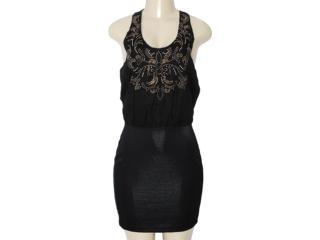 Vestido Feminino y Exx 18521 Preto - Tamanho Médio