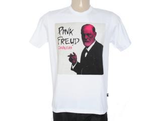 Camiseta Masculina Cavalera Clothing 01.01.7077 Branco - Tamanho Médio