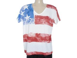 Camiseta Masculina Coca-cola Clothing 353203373 Off White - Tamanho Médio