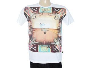Camiseta Masculina Cavalera Clothing 01.01.7069 Branco - Tamanho Médio