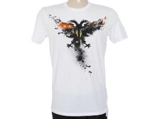 Camiseta Masculina Cavalera Clothing 01.01.7090 Branco - Tamanho Médio