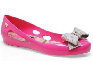Sapatilha Feminina Rafitthy 112.32800 Labradores Cute Pink/gris - Tamanho Médio
