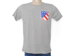 Camiseta Masculina Coca-cola Clothing 353203306 Mescla - Tamanho Médio