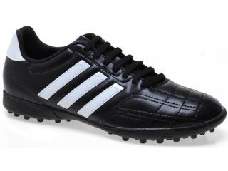 Tênis Masculino Adidas Q22549 Goletto iv Trx tf Preto/branco - Tamanho Médio