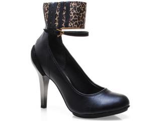 Sapato Feminino Tanara 4562 Preto - Tamanho Médio
