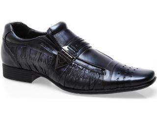 Sapato Masculino Ferricelli Ly13600 Aco/preto - Tamanho Médio