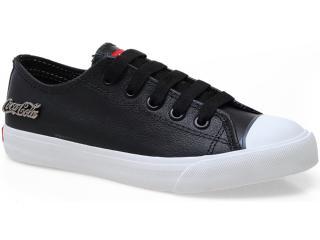 Tênis Feminino Coca-cola Shoes Cc0063 Preto - Tamanho Médio