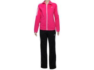 Abrigo Feminino Adidas D89830 Frieda Wom Pink/preto - Tamanho Médio