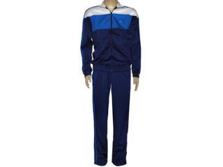Abrigo Masculino Adidas F49192 Bts Knit Marinho/azul/branco - Tamanho Médio