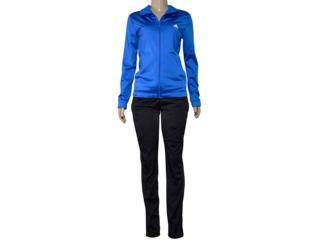 Abrigo Feminino Adidas Cv4704 Ess ep ts Azul/preto - Tamanho Médio