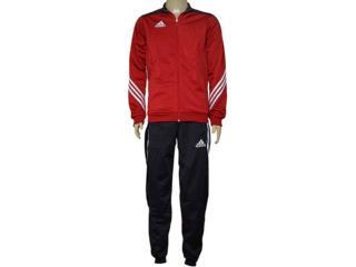 Abrigo Masculino Adidas D82934 Sere 14  Pes Suit Vermelho/preto - Tamanho Médio