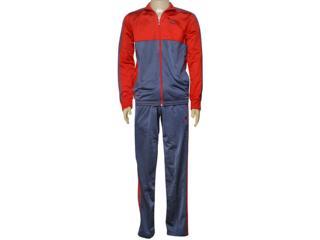 Abrigo Masculino Adidas Ay8754 Mens kn ts Vermelho/chumbo - Tamanho Médio