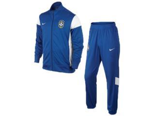 Abrigo Masculino Nike 575712-493 Cbf b Academy Knit Wup Azul - Tamanho Médio