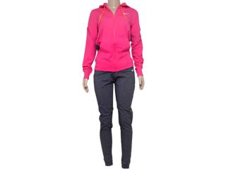 Abrigo Feminino Nike 623417-616 Jersey Cuffed Pink/grafite - Tamanho Médio