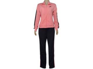 Abrigo Feminino Nike 830345-808 Sportswear Track Rosa/preto - Tamanho Médio