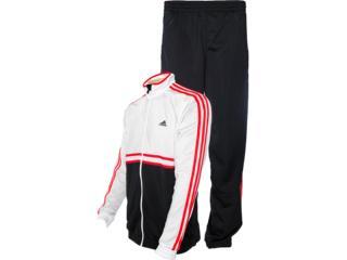Abrigo Masculino Adidas Z32740 ts Bts jn oc Preto/branco/vermelho - Tamanho Médio