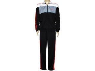 Abrigo Masculino Adidas F49190 Bts Knit Preto/cinza/branco/verm - Tamanho Médio
