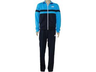 Abrigo Masculino Nike 544155-423 Breakline Celeste/marinho - Tamanho Médio