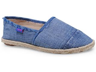 Alpargatas Feminina Liker 281 Cor Jeans - Tamanho Médio