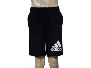Bermuda Masculina Adidas Br9224 Knit Ft, Preto - Tamanho Médio
