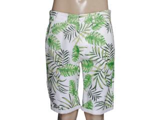 Bermuda Masculina Coca-cola Clothing 33200769 Off White/verde Floral - Tamanho Médio