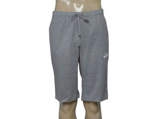 Bermuda Masculina Nike 804419-063 Nsw Short Jsy  Mescla - Tamanho Médio