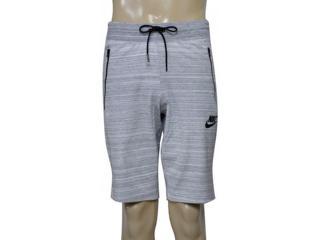 Bermuda Masculina Nike 837014-100 m Nsw Av15 Short Knit Mescla - Tamanho Médio