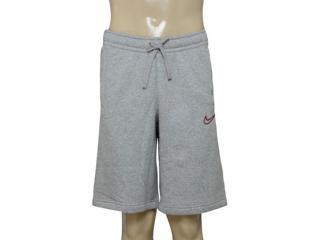 Bermuda Masculina Nike 804703-063 m Nsw Flc gx  Cinza - Tamanho Médio