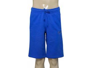Bermuda Masculina Nike 804703-480 m Nsw Flc gx  Azul - Tamanho Médio