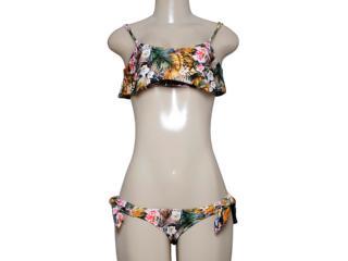 Biquíni Feminino Cia Maritima 53074 Estampado Floral - Tamanho Médio