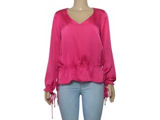 Blusa Feminina Borda Barroca 1001283 Pink - Tamanho Médio