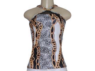 Blusa Feminina Coca-cola Clothing 363203055 Onça - Tamanho Médio