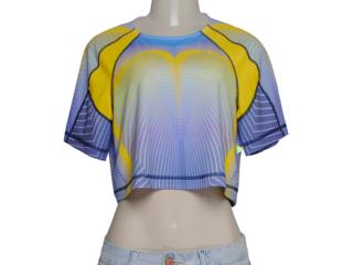 Blusa Feminina Coca-cola Clothing 343200817 Amarelo/roxo - Tamanho Médio