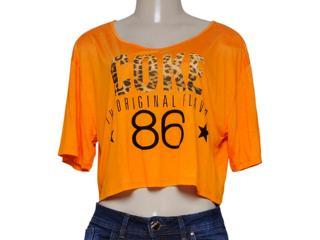 Blusa Feminina Coca-cola Clothing 343201223 Mostarda - Tamanho Médio