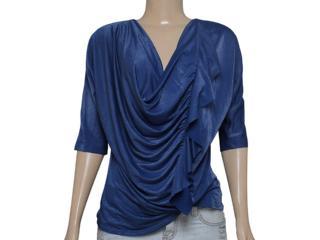 Blusa Feminina Coca-cola Clothing 363202665 Azul - Tamanho Médio