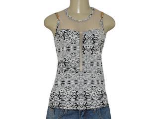 Blusa Feminina Coca-cola Clothing 363203163 Off White/preto - Tamanho Médio